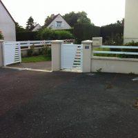 portail motorisé portillon